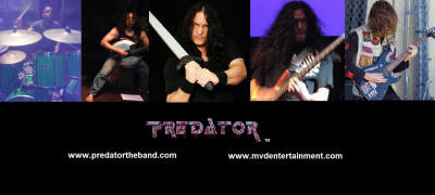 Predator the band group promo sht